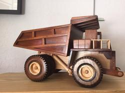 Wooden Tractor