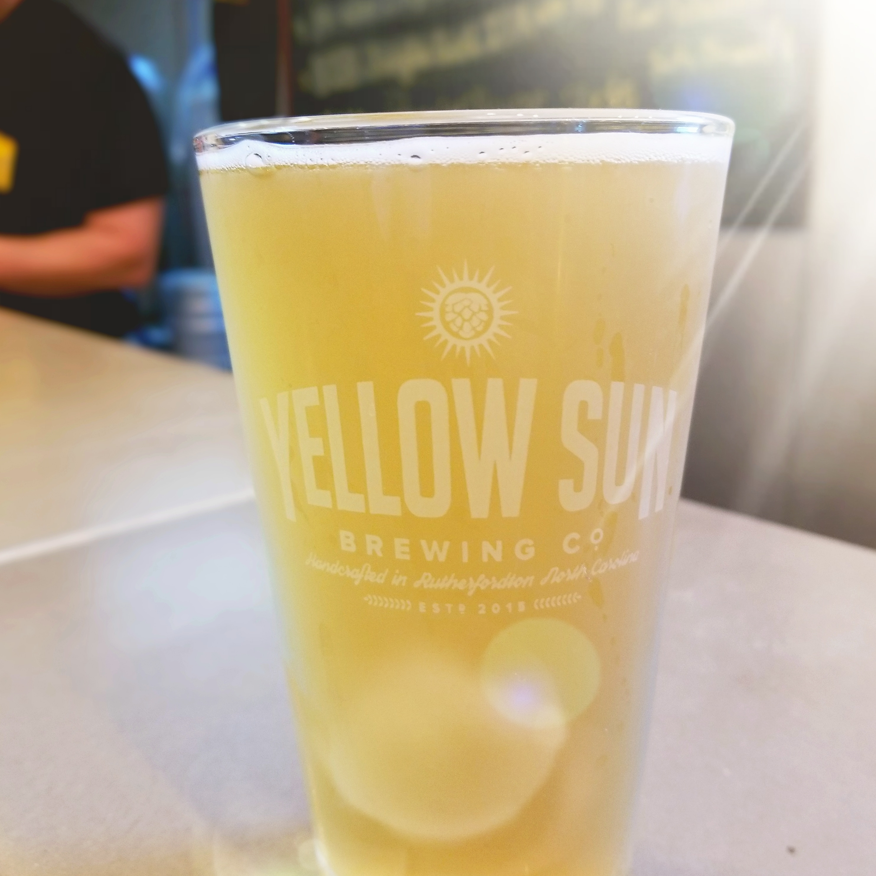 Yellow Sun Brewery NC Beer