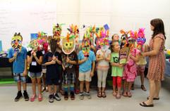 Student Tribal Masks
