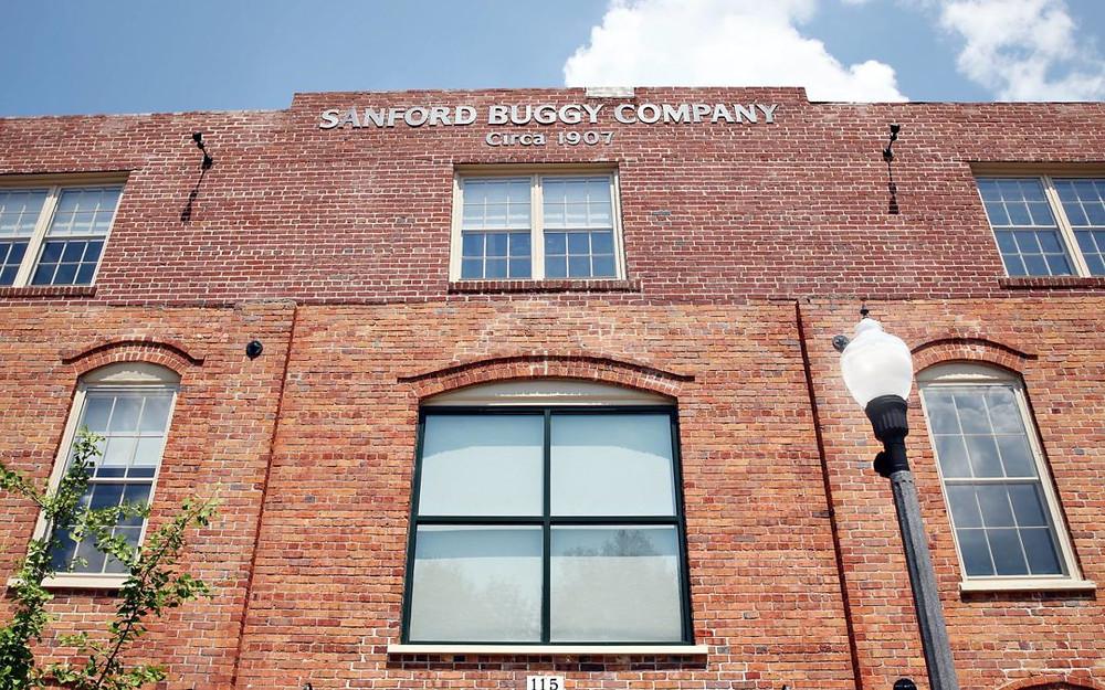 Rehabilitation of the historic Sanford Buggy Company building