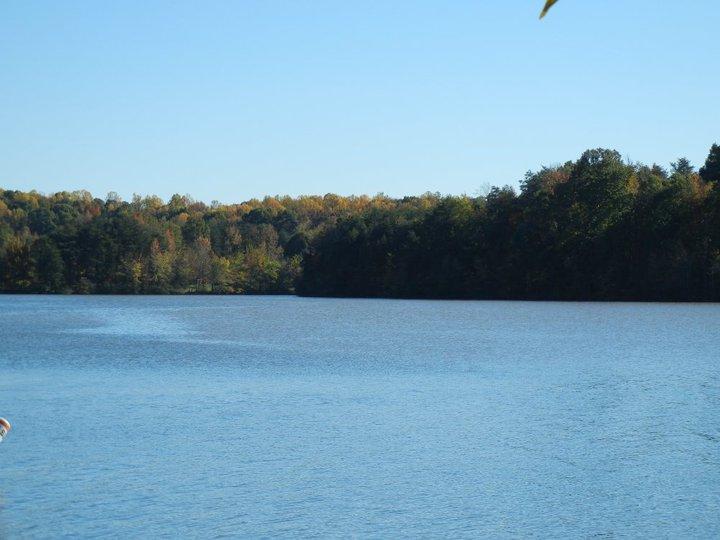 Water Shot of Lake Reidsville