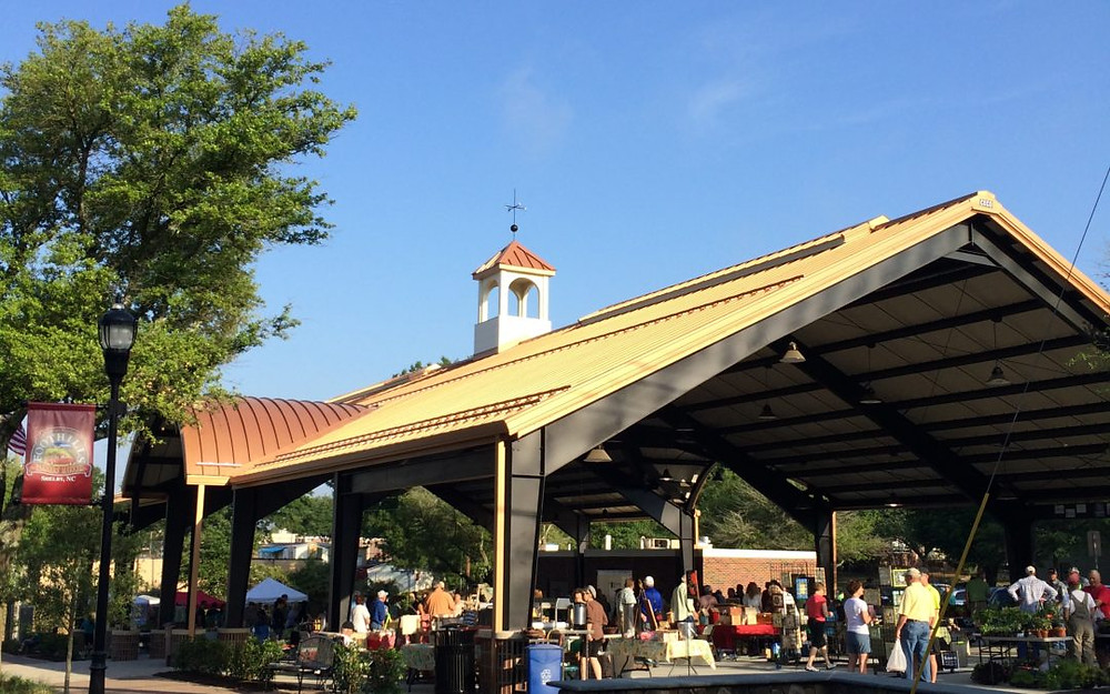 City Pavilion in Uptown Shelby, NC