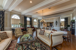 Living Room and Breakfast Room