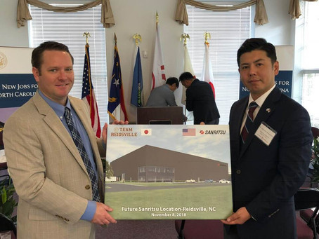 Global Company, Sanritsu Logistics to create 24 jobs and invest $9 million in Reidsville