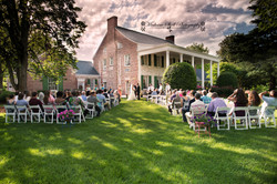 Outdoor Wedding at Penn House