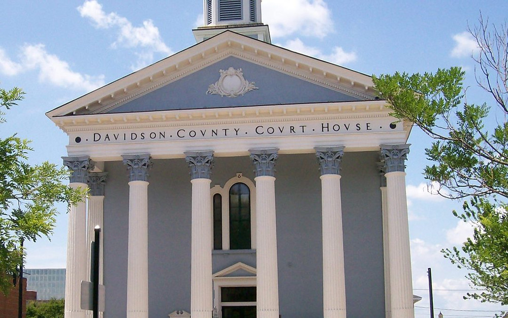 The Old Davidson County Courthouse in Uptown Lexington, NC