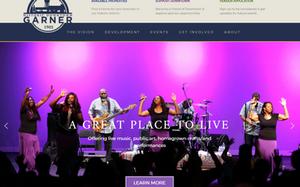 New website and branding for Garner, NC