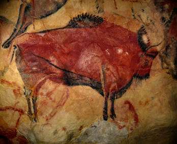 bison-cave painting
