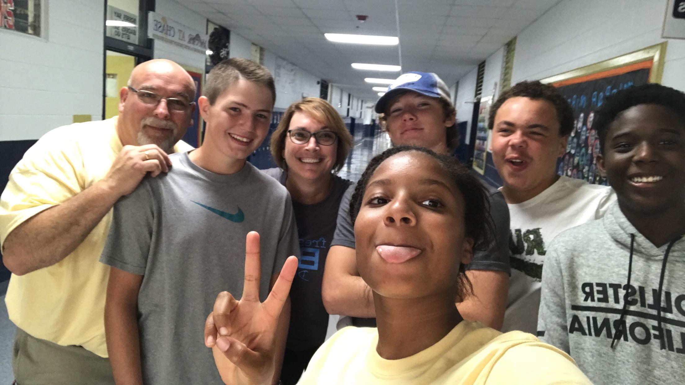 Freshman Selfie