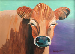 Pam Peters Cow