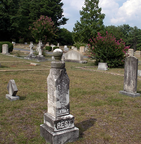 Historic Cemetery in Rutherfordton
