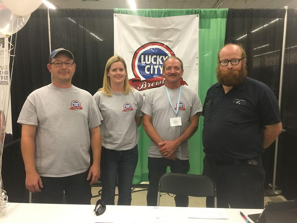 Lucky City brewing team
