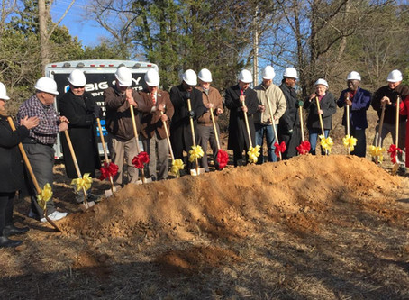 Love's Travel Stop breaks ground at $15M site in Reidsville