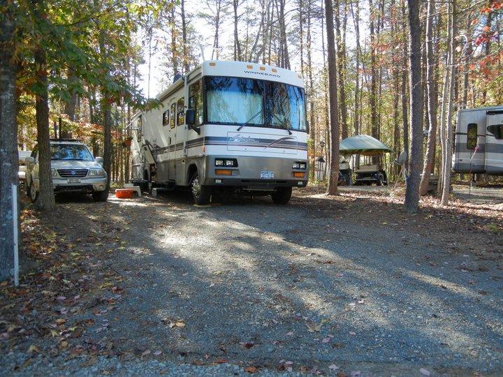 RV Sites at Lake Reidsville