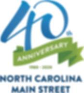 NC Main Street 40th Anniversary Logo_FIN
