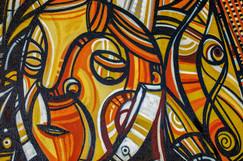 Cubism based graffiti