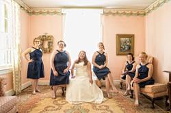 Bridal Party at Penn House