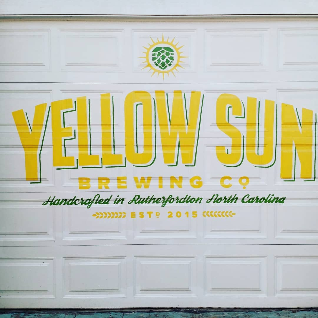 Yellow Sun Brewery Mural