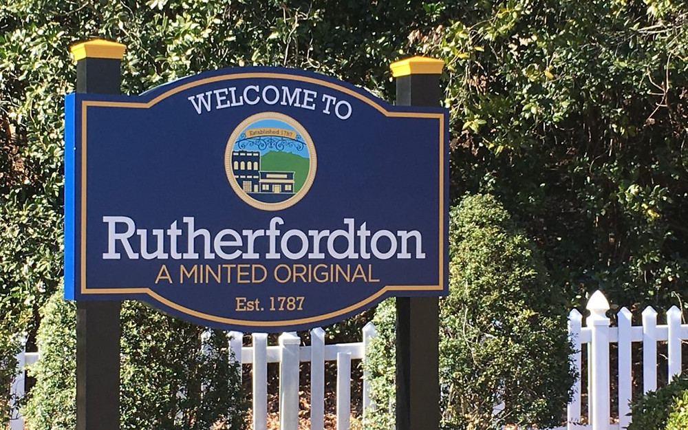 "Rutherfordton showcases its new ""A Minted Original"" brand"