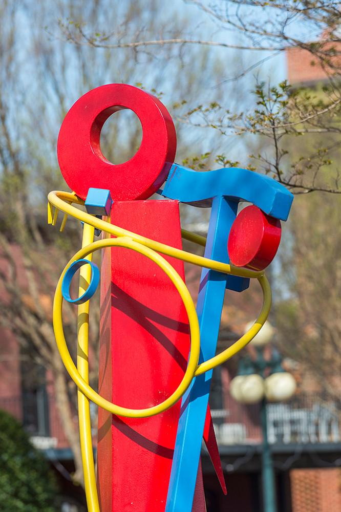 Art Sculpture Torsion Balance by Hanna J