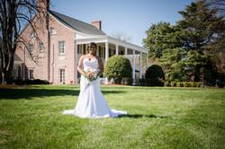 Bride at Penn House