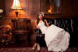 Bridal pictures at Penn House