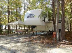 5th wheel campsite