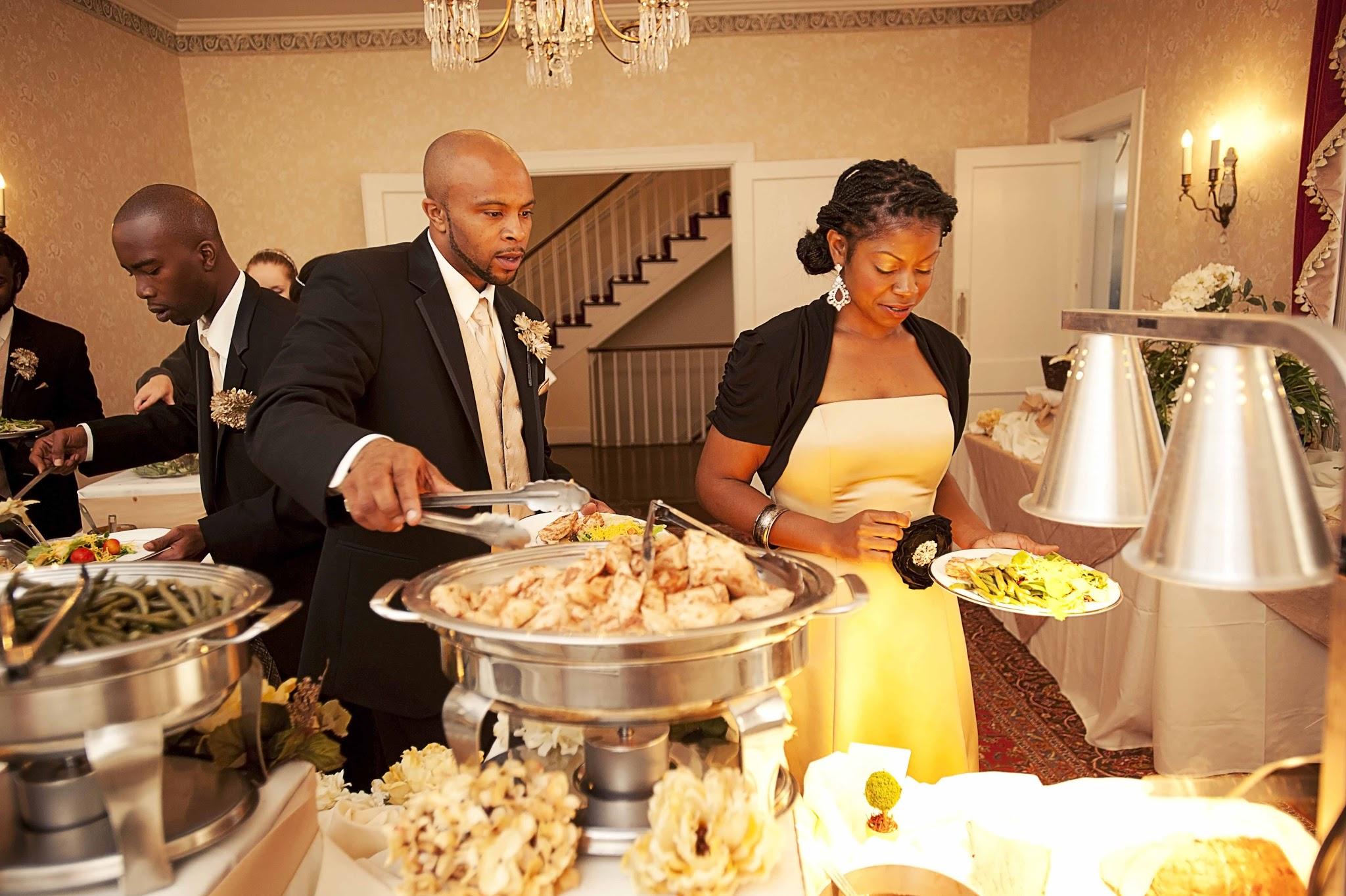 Wedding reception at Penn House