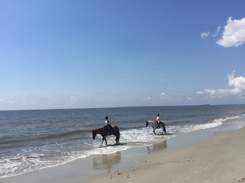 Horseback Riding on Daufuskie
