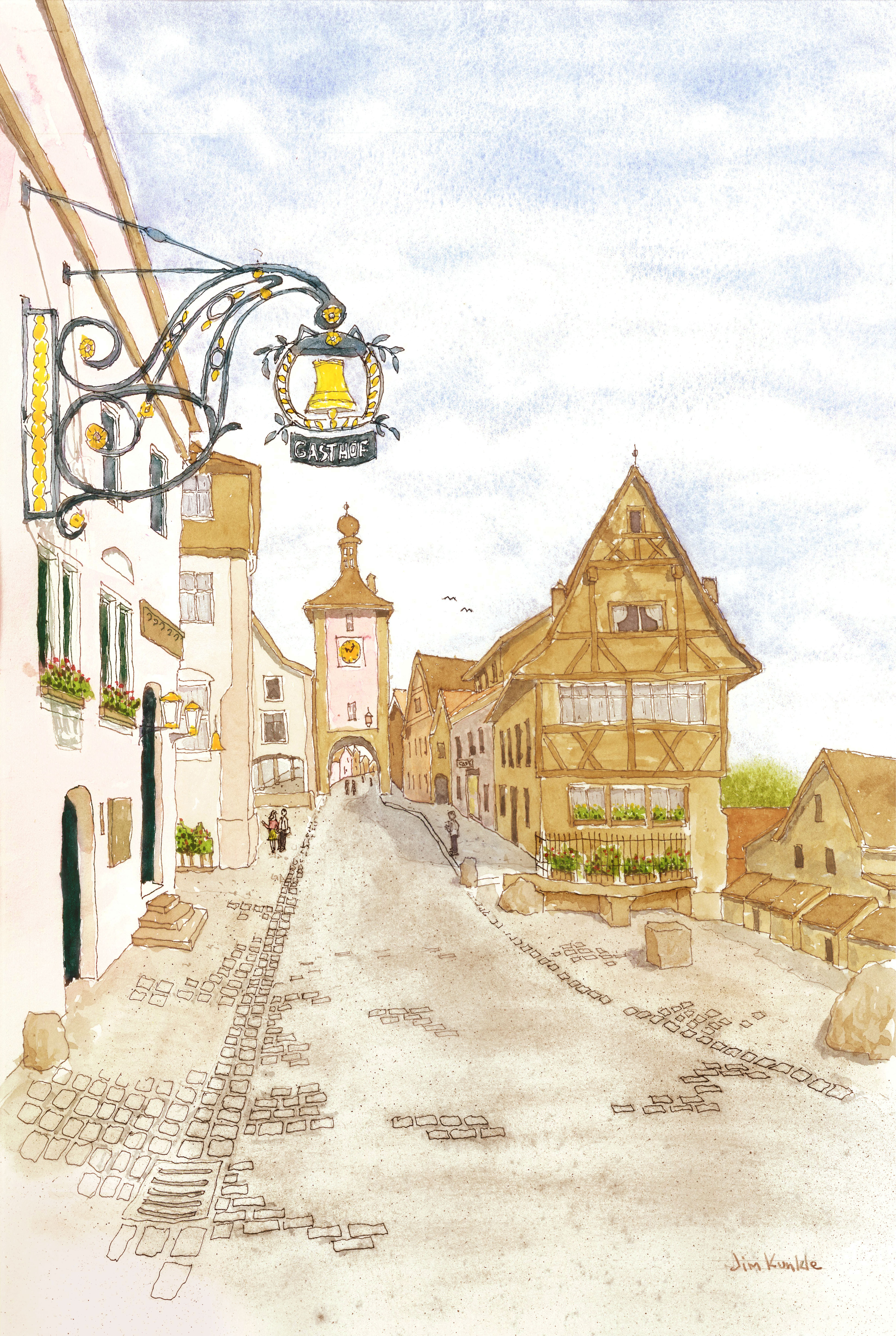 Rothenburg Cityscape