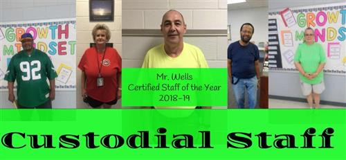 Custodial Staff