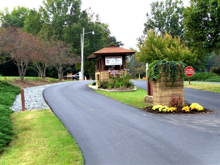 Entrance to Lake Reidsville