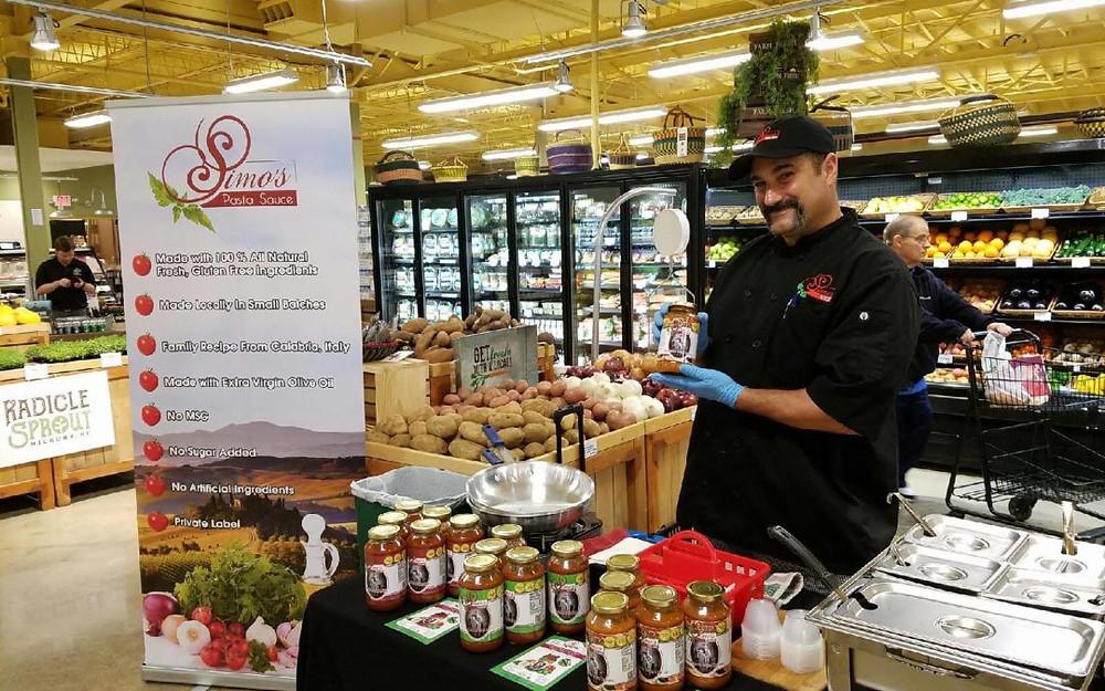 Food Matters Market in downtown Morganton, NC