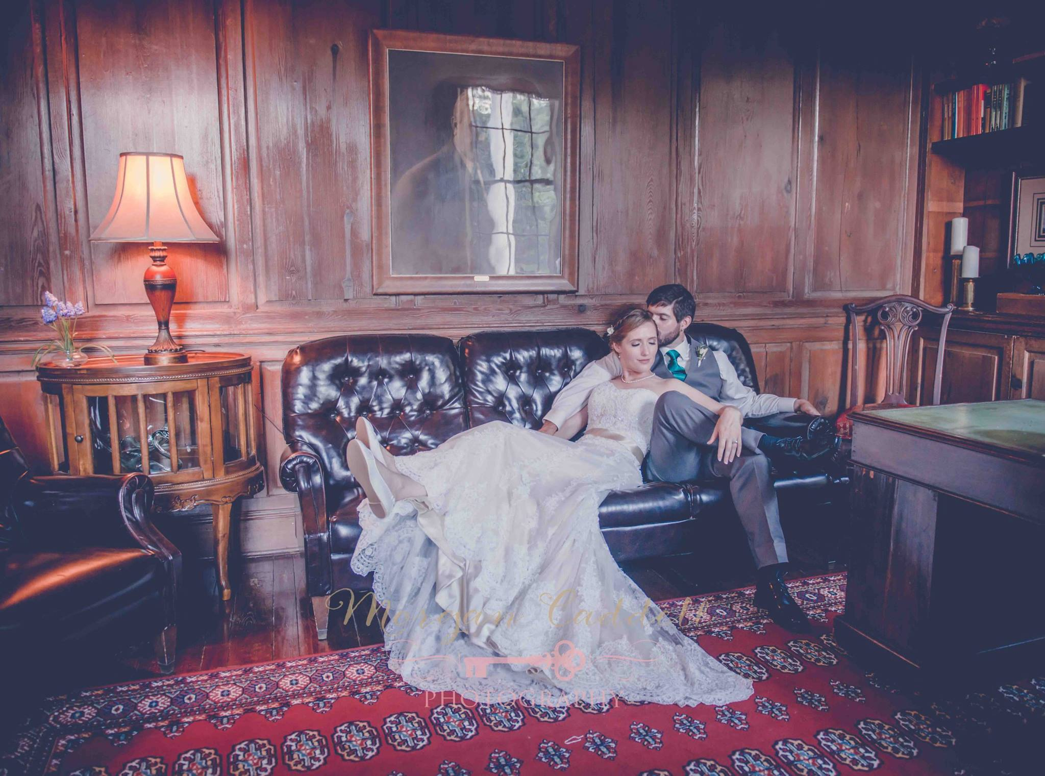 Wedding portraits at Penn House