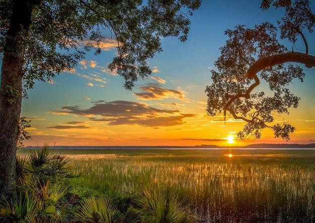 Sunset on Daufuskie