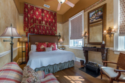 Guest Room with Tapestry