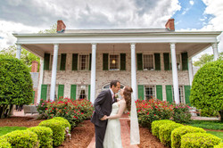 Bride and Groom at Penn House