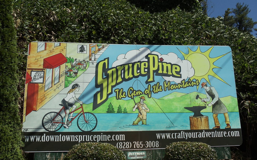 Spruce Pine, NC creates a wayfinding plan for growth