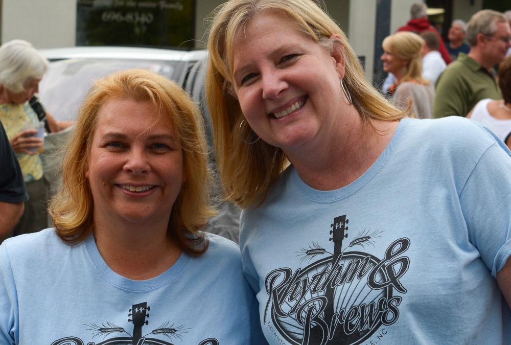 Hendersonville, NC downtown volunteers