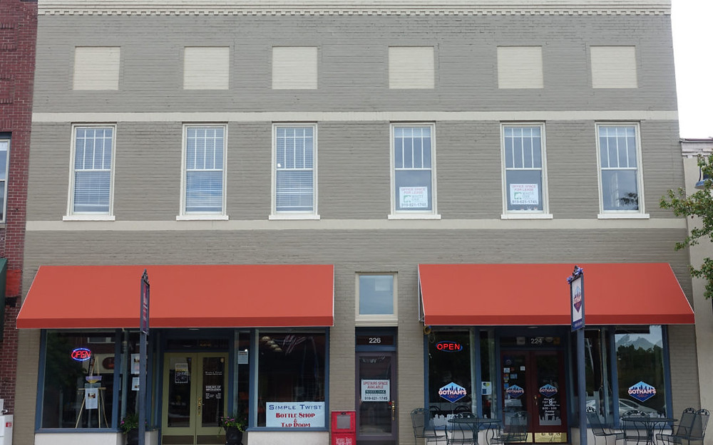 Facade improvement in Smithfield, NC