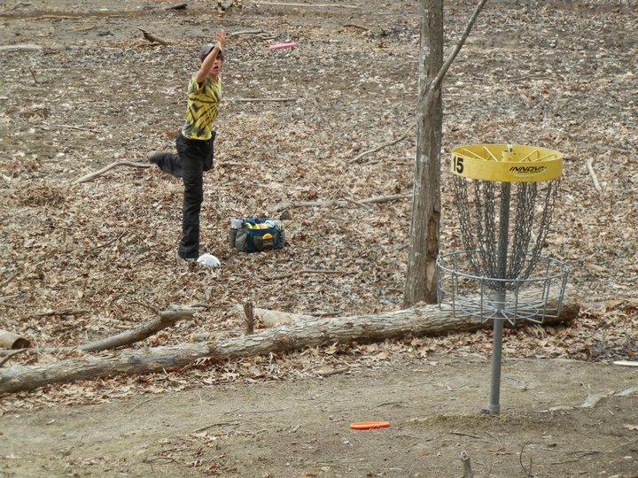 Disc Golf Winter Bowl