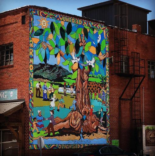 West Jefferson Mural