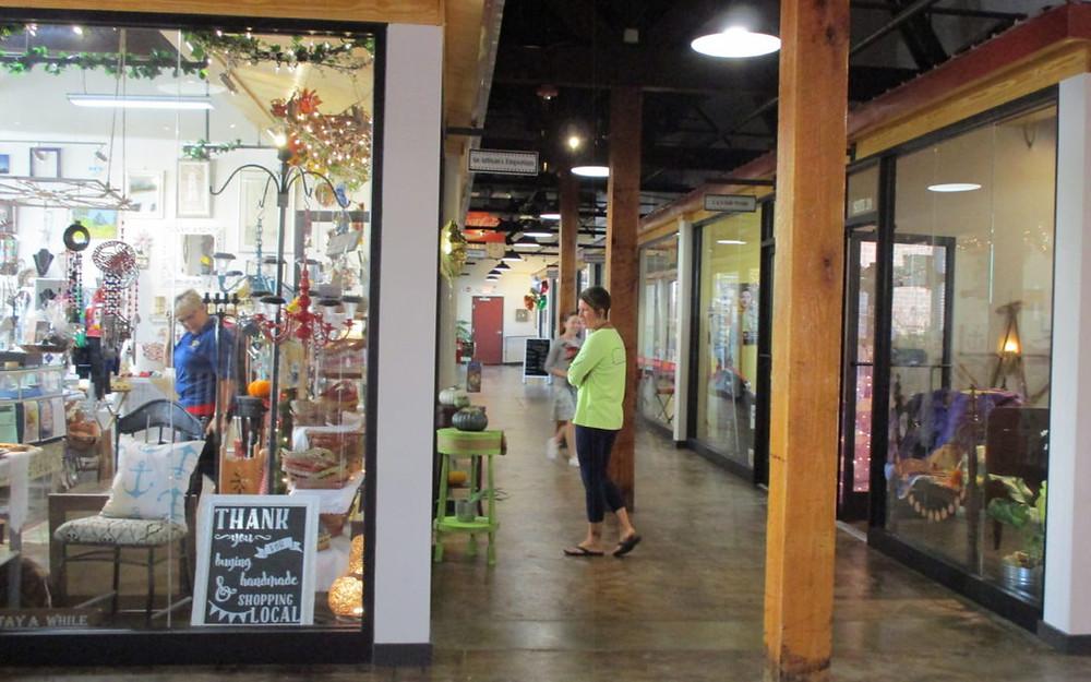 Hall's Way retail shopping center in Roxboro, NC