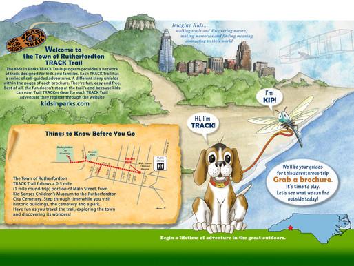 Rutherfordton Launches a Main St Safari Track Trail