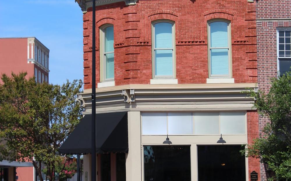 Renovated Goldsboro Drug Company buiilding