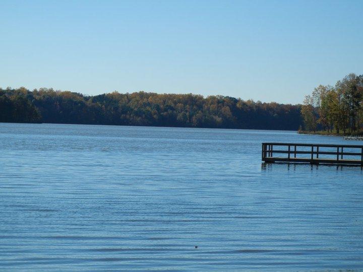 Lake Reidsville lake shot