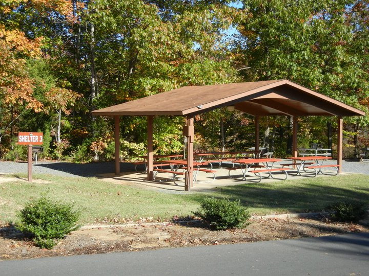 Lake Reidsville Picnic Shelters