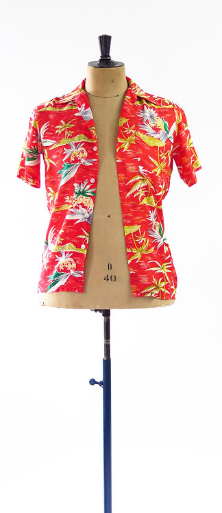 1950s National Sports Hawaiian Shirt