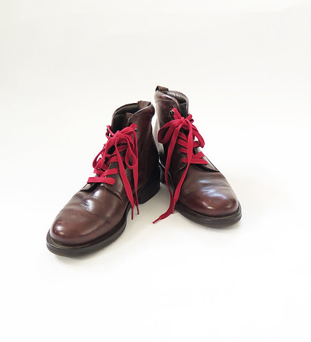 Redwood Made In Italy Brown Leather Boots UK 9