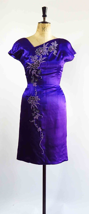 1950's Beaded Dress